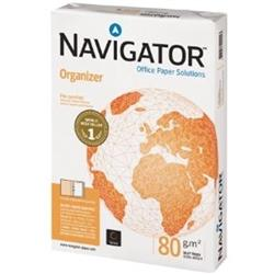 Navigator Organizer A4 Paper 80gsm Punched 4 Holes White Ref 127563 (500 Sheets)