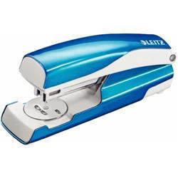 Leitz NeXXt WOW Stapler 3mm 30 Sheet Blue Ref 55021036L