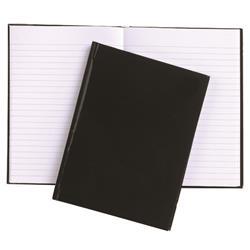 5 Star Office Manuscript Book Casebound Feint Ruled 192pp A6 [Pack 10]