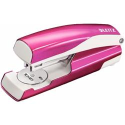 Leitz NeXXt WOW Stapler 3mm 30 Sheet Pink Ref 55021023L