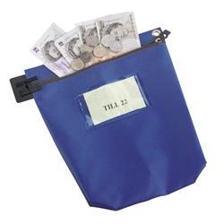 Cash Bag Medium Blue Ref CB1B