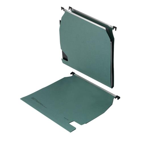 5 Star Office Suspension File Manilla Heavyweight with Tabs and Inserts A4 Green