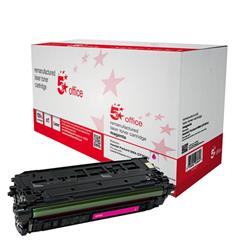5 Star Office Remanufactured Laser Toner Cartridge 5000pp Magenta [HP No. 508A CF363A Alternative]