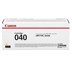 Canon 040 Laser Toner Cartridge Page Life 5400pp Yellow Ref 0454C001