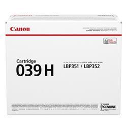 Canon CRG 039H Laser Toner Cartridge High Yield Black Ref 0288C001