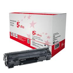 5 Star Office Remanufactured Laser Toner Cartridge 2200pp Black [HP No.83X CF283X HY Alternative]