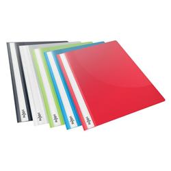 Rexel Choices Report Fldr Clear Front Capacity 160 Sheets A4 Astd Ref 2115641 [Pack 25]