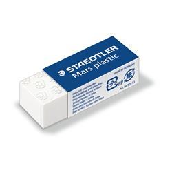 Gomma Mars Plastic - Staedtler - bianca - 40X19X13 mm - 526 53