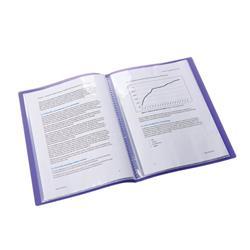 Elba Bright Display Book PP 20 Pkt A4 Astd Ref 400101909 [Pack 10]