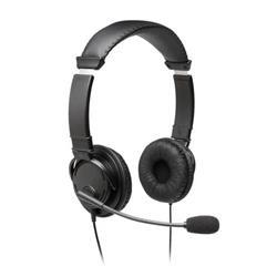 Cuffie con filo Kensington - USB - con microfono - nero