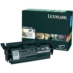 Lexmark Laser Toner Cartridge Return Program Extra High Yield Page Life 36000pp Black Ref X654X11E