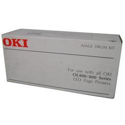 OKI Black Image Drum for OKI Laser 400/800 Series Printers (Yield 12000 Pages)