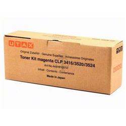 Utax Toner Cartridge (Yield 8,000 Pages) Magenta for Utax CLP 3416/3520/3524 Colour Printers