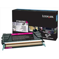 Lexmark (Magenta) Toner Cartridge (Yield 7000 Pages) for X746/X748 Printers
