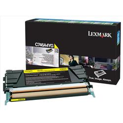 Lexmark (Yellow) Toner Cartridge (Yield 7000 Pages) for C746/C748 Printers