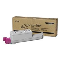 Xerox Laser Toner Cartridge Hi-Capacity Page Life 12000pp Magenta [for Phaser 6360] Ref 106R01219