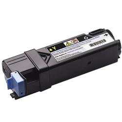 Dell NPDXG High Capacity Yellow Toner Cartridge (Yield 2,500 Pages) 593-11037 :  for Dell 2150cn/2150cdn/2155cn/2155cdn Laser Printers