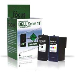 ALPA-CArtridge Remanufactured Dell 948 Black Ink Cartridge 592-10275 JP-451 CN594