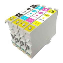 Alpa-Cartridge Compatible Epson Stylus C64 Multi Pack 4 Ink Cartridges T044540