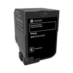 Lexmark CS720 Toner Cartridge Return Program High Yield Page Life 20000pp  Black Ref 74C2HK1