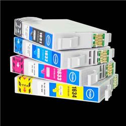 Alpa-Cartridge Compatible Epson 16XL T1636 Hi Yield Multipack of 4 Ink Cartridges