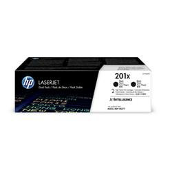HP 201XL Toner Cartridge High Yield Page Life 700pp Black Ref CF400XD [Pack 2] - Up to £100 Cashback