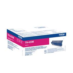 Brother TN423M Toner Cartridge High Yield Page Life 4000pp Magenta Ref TN423M