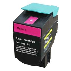 ALPA-CArtridge Remanufactured Lexmark C540 Magenta Toner C540H2MG