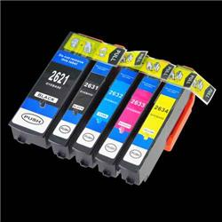 Alpa-Cartridge Compatible Epson 26XL T2636 Hi Yield Multipack of 5 Ink Cartridges