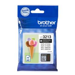 Brother LC3213BK Inkjet Cartridge Page Life 400pp Black Ref LC3213BK