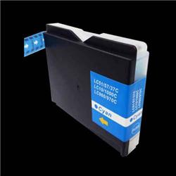 Alpa-Cartridge Compatible Brother MFC240 Cyan Ink Cartridge LC1000C also for LC970C
