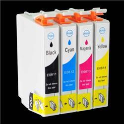 Alpa-Cartridge Compatible Epson Stylus D88 Multipack 4 Ink Cartridges T061540