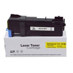 ALPA-CArtridge Remanufactured Xerox Phaser 6125 Yellow Toner 106R01333