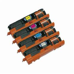 Alpa-Cartridge Remanufactured HP 2500 Yellow Toner Q3962A also for C9702A Canon EP701Y