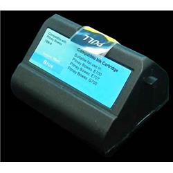 Alpa-Cartridge Comp Pitney Bowes E700 769-0 Blue Ink Cartridge 10010-800 also for E74092-001 E74178-00