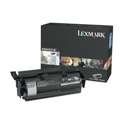 Lexmark X654 Toner Cartridge Return Program Page Life 6000pp EXHY Black Ref 0X654X31E