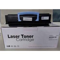 ALPA-CArtridge Comp Lexmark X203 Black Toner X203A11G