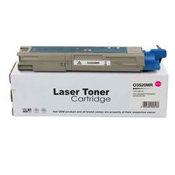 ALPA-CArtridge Remanufactured OKI C3520 Magenta Toner 43459322