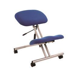 Trexus Gas Lift Kneeling Office Chair Steel Framed on Castors Seat H480-620mm Blue Ref PS2144S