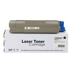 ALPA-CArtridge Remanufactured OKI C5800 Black Toner 43324424
