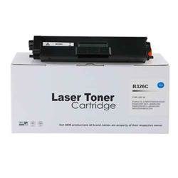 Alpa-Cartridge Remanufactured Brother Hi Yield Cyan Toner TN326C