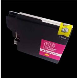 Alpa-Cartridge Compatible Brother MFC290C Magenta Ink Cartridge LC1100M also for LC980M