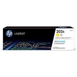 Hewlett Packard [HP] 203X Laser Toner Cartridge High Yield Page Life 2500pp Yellow Ref CF542X