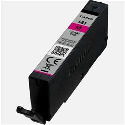 Canon CLI-581 Inkjet Cartridge Page Life 259pp Magenta Ref 2104C001