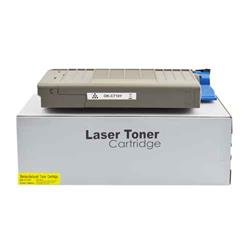 ALPA-CArtridge Comp OKI C710 Yellow Toner 43866105 44318605