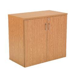 Jemini 1 Oak Shelf 1000mm Cupboard - KF838429