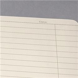 Sigel Conceptum Notebook Hard Cover Lined A4  Micro Perforated 160 Pages 4-Hole Black Ref CO821