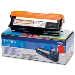 Brother TN-325C Cyan Laser Toner Cartridge Ref TN325C