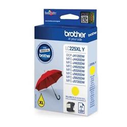 Brother Inkjet Cartridge High Yield 11.8ml Page Life 1200pp Yellow Ref LC225XLY