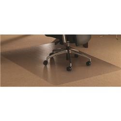 Floortex Polycarbonate Rectangle Carpet Chairmat 152x121cm Ref 1115223ER